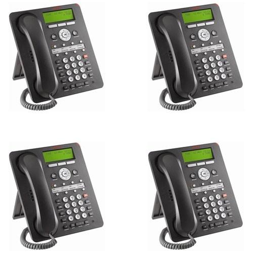 Avaya 1608i IP Phone 4 Pack