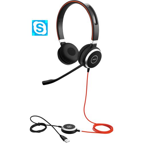 Jabra Evolve 40 MS Stereo headset (6399-823-109)