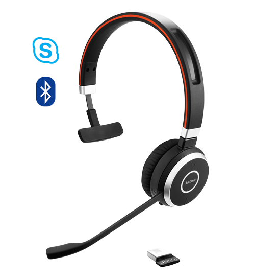 Jabra Evolve 65 MS Mono (6593-823-309)