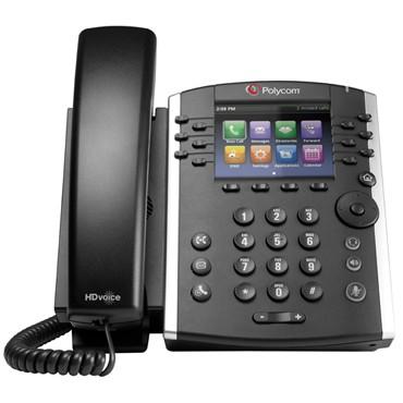 Polycom VVX 410 VoIP Phone 2200-46162-025