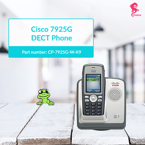 Cisco 7925G Unified Wireless IP Phone (CP-7925G-W-K9) - Ghekko