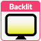 phone backlit display