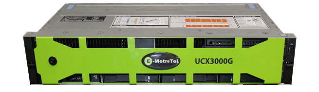 E-Metrotel UCX3000G Base System