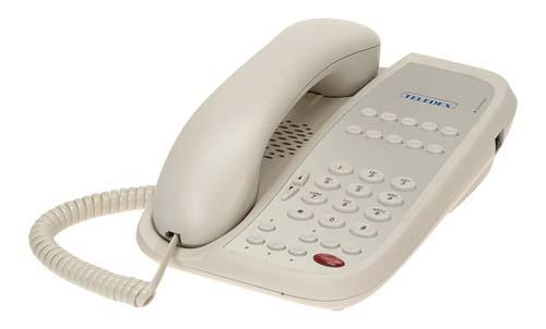 Teledex I Series ND2110S-N Ash