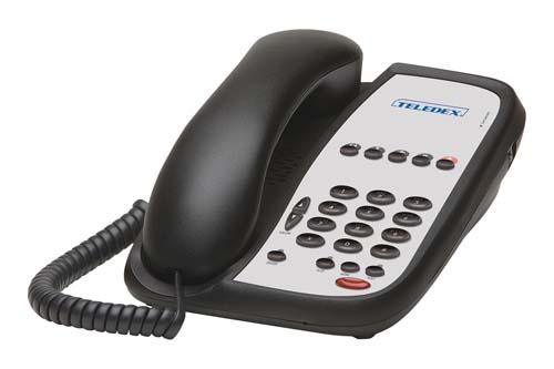 Teledex I Series ND2105S-N Black