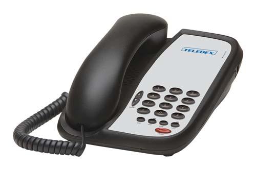 Teledex I Series A102 Black
