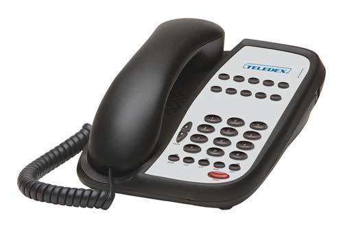 Teledex I Series A110S Black