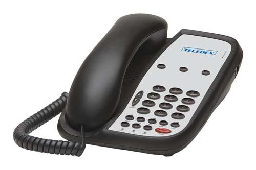 Teledex I Series A203S Black