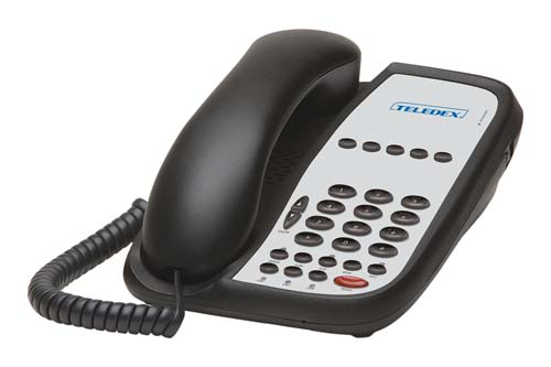 Teledex I Series A205S Black