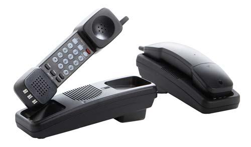 Teledex Opal RediDock 1 Line Black