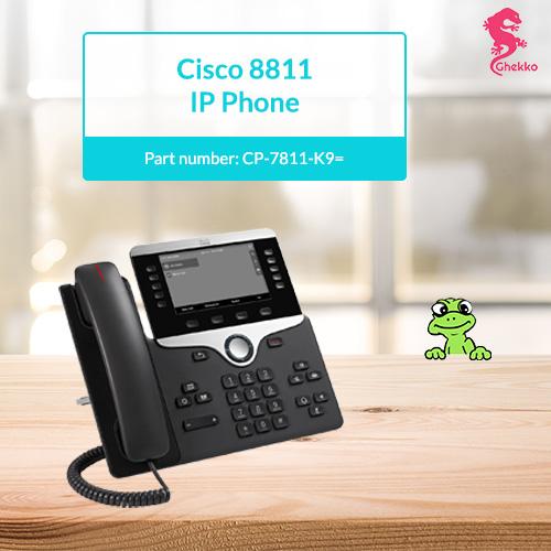 Cisco IP 8811 IP Phone (CP-8811-K9=): supply & repair | Ghekko