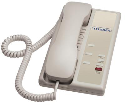 Teledex Nugget 3 series Hospitality Phones Ash