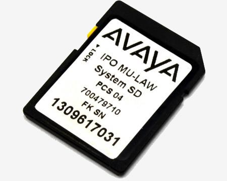 Avaya ipo sd card full