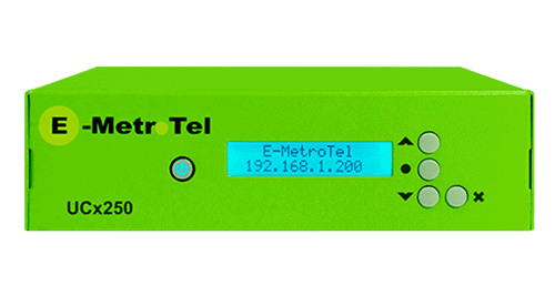 E-metrotel UCX250 - ghekko phone systems supplier